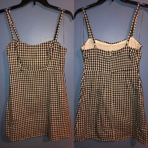 Checkered Cami Mini Dress